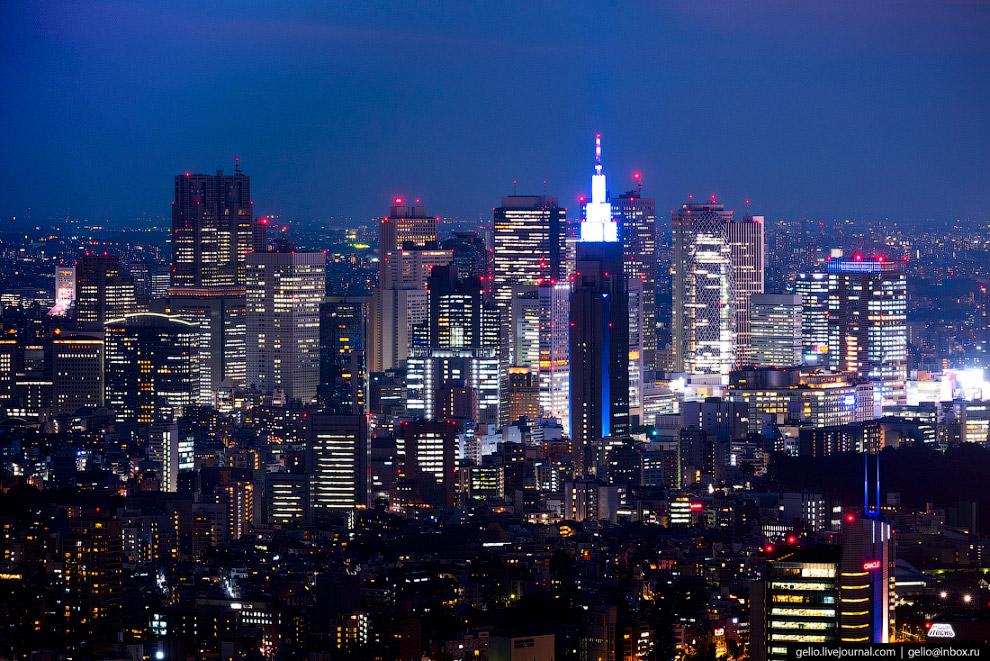 19. В этом районе расположен самый большой квартал небоскрёбов Японии — Ниси-Синдзюку, 11 из 40 высо