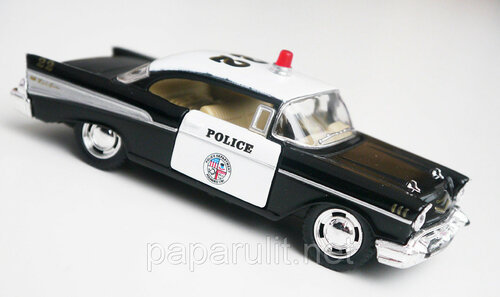 Kinsmart Chevrolet Bel Air Police