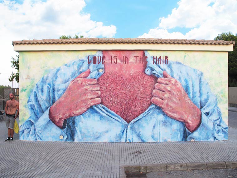 Street Art – The amusing creations by Sath (16 pics)