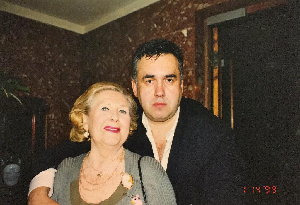 Капа Лазаренко и Стас Садальский