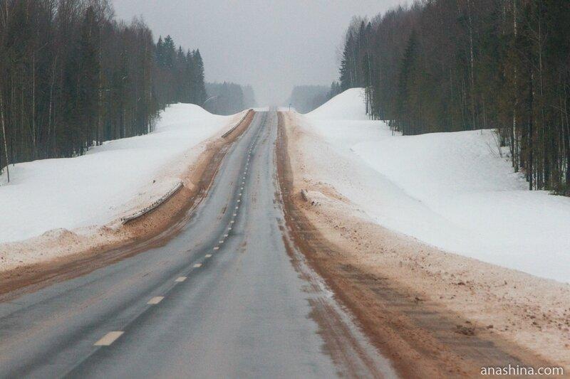 Трасса А-119, Вологодская область