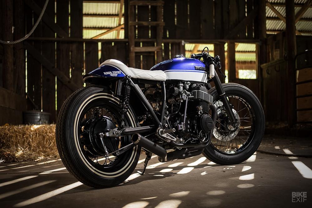 Kick Start Garage: кафе рейсер Honda CB750