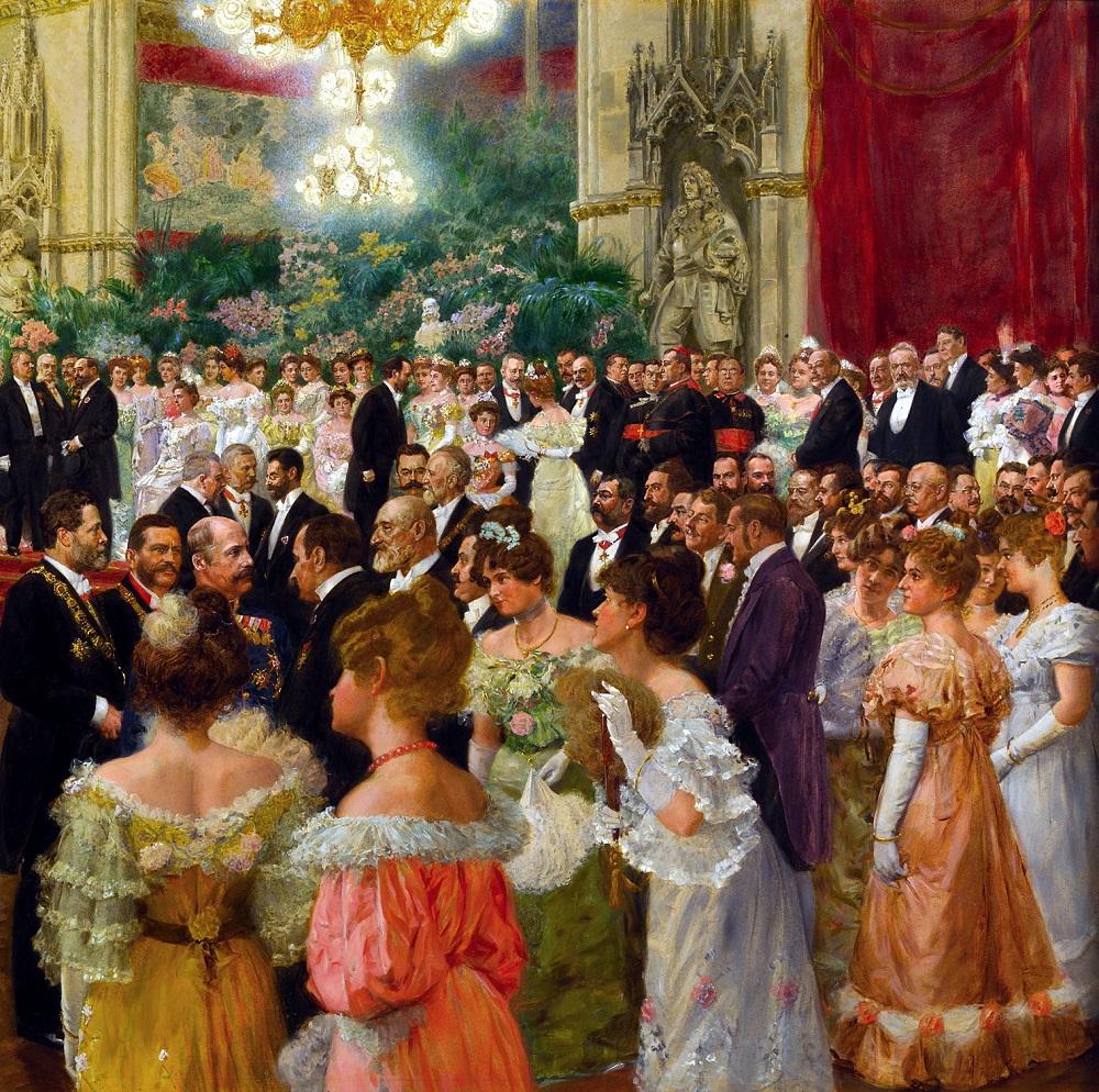Городской Венский Бал, 1904 (деталь)