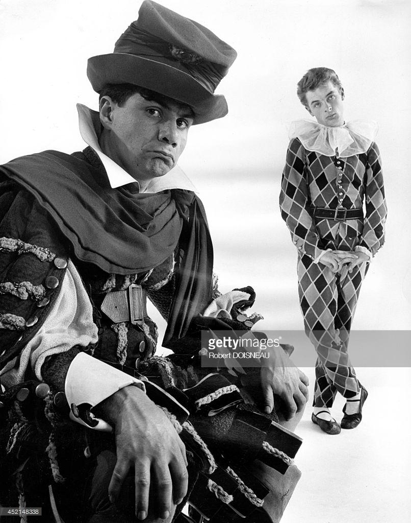 1950. Портрет Мишеля Галабру и Жан-Поля Руссильона