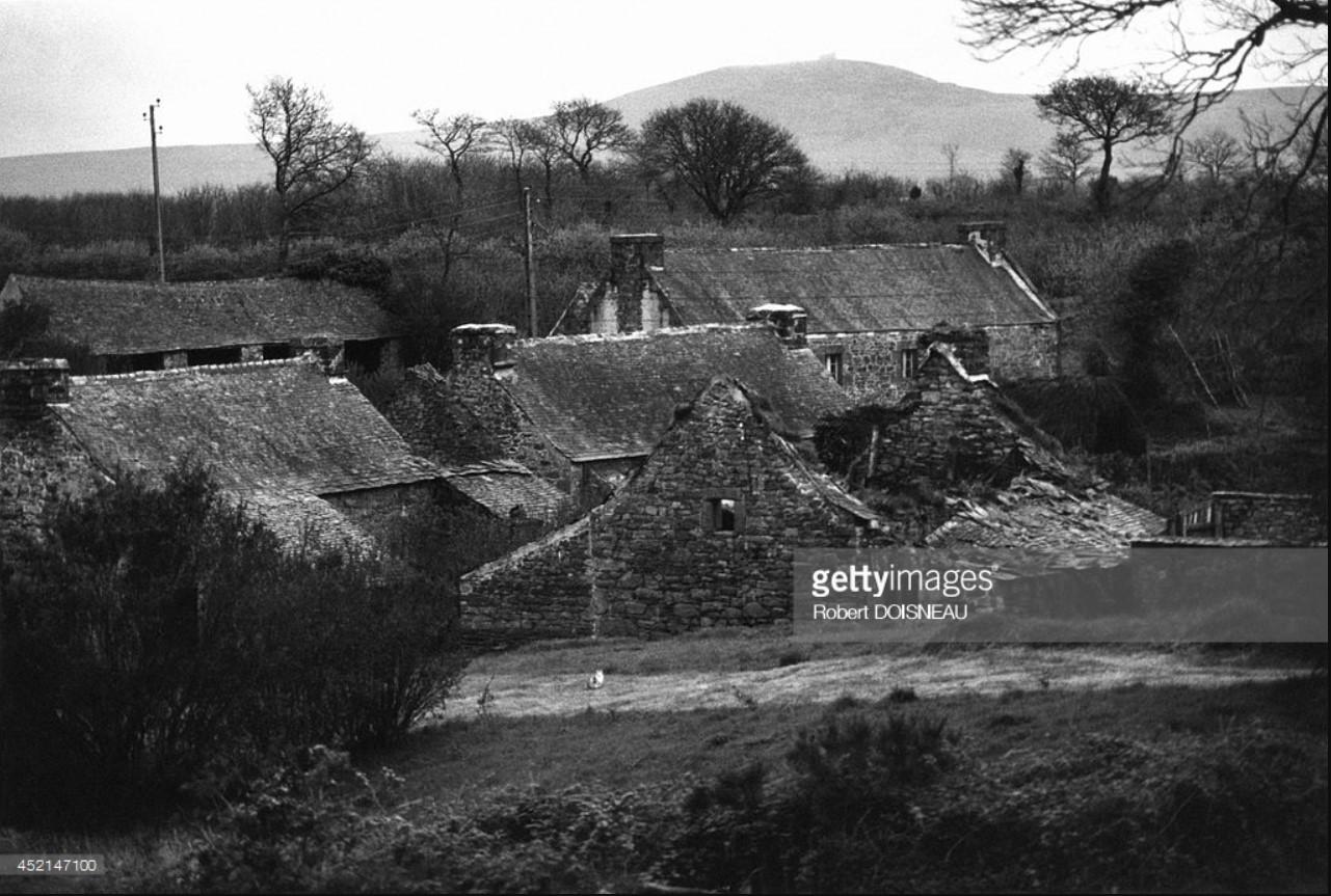1964. Деревня Тредюдон, Бретань. 7 мая