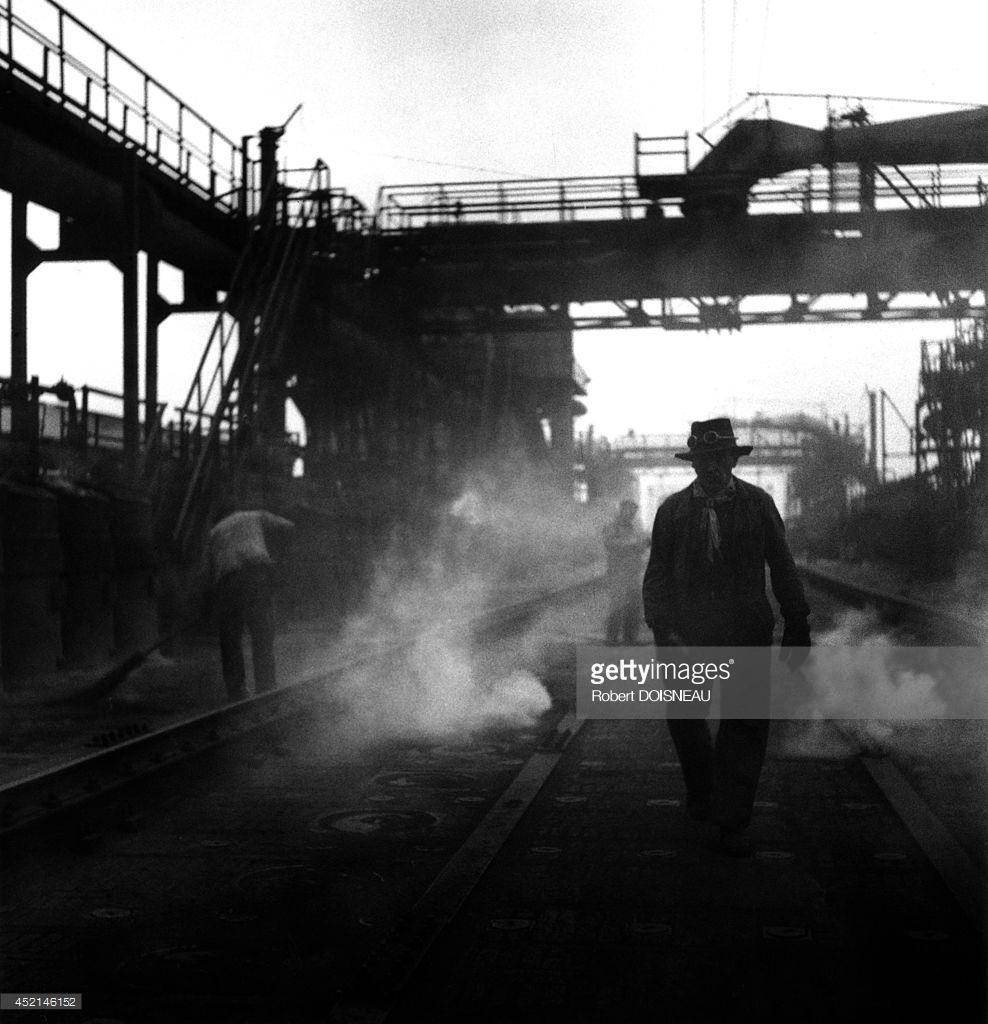 1955. Работа на заводе Корнильона в Сен-Дени