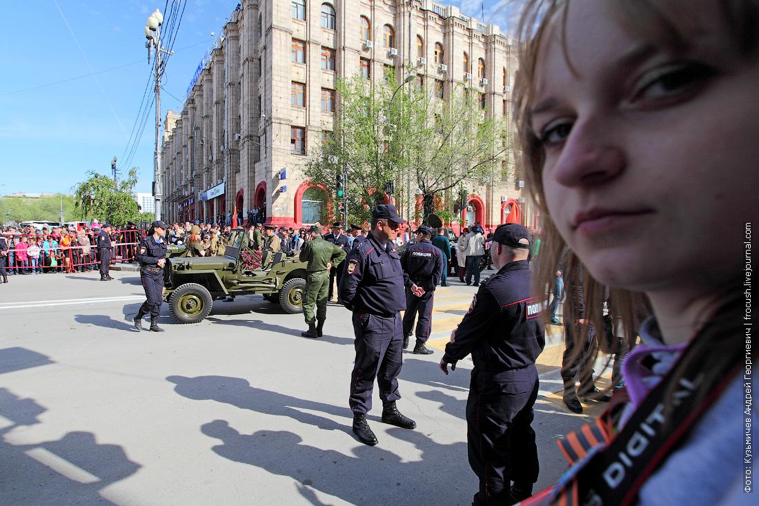 военный парад в Волгограде 9 мая 2014 года