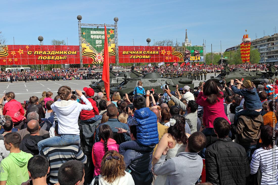 парад в Волгограде на 9 мая