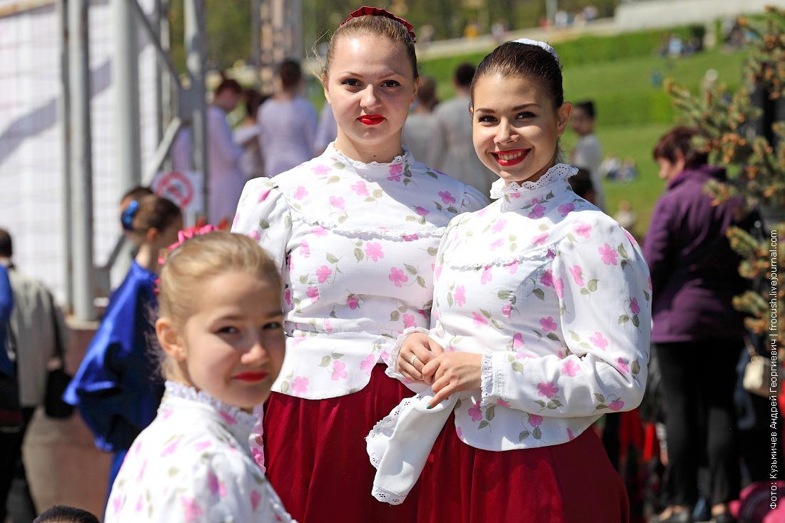 праздничный концерт в Волгограде 9 мая 2014 года