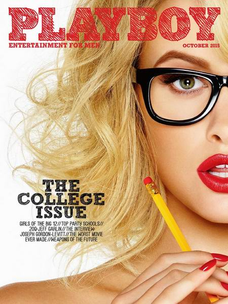Playboy #10 (October/2015/USA)