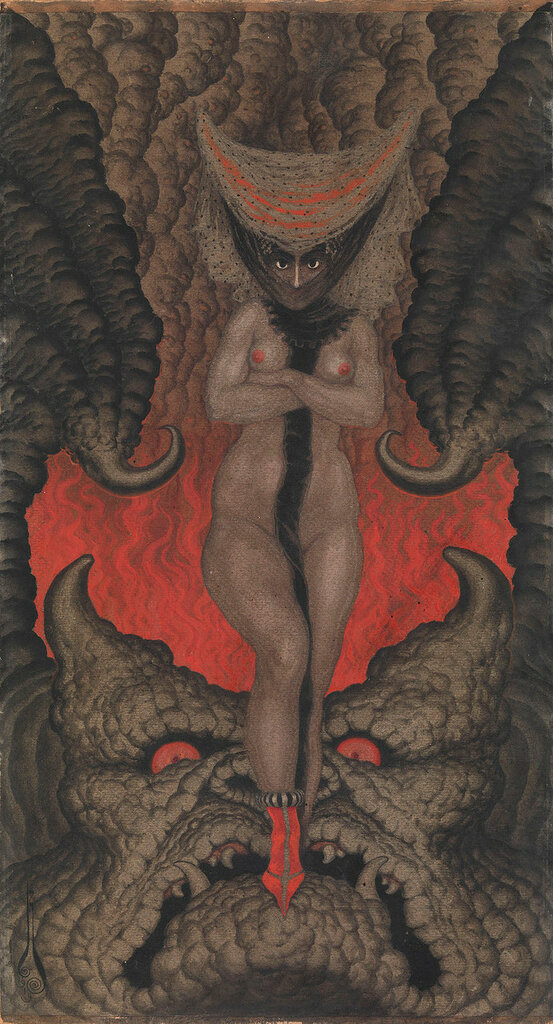 Nikolai Kalmakoff  La Femme de Satan, 1919.jpg