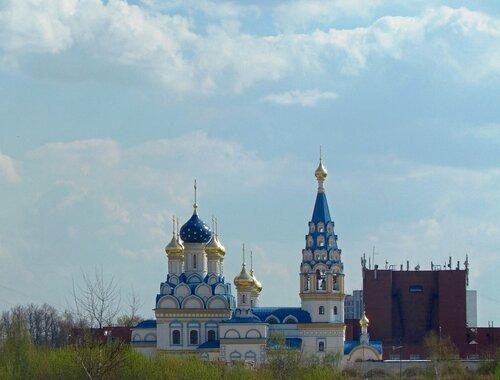 """Храм иконы Божией Матери """"Неувядаемый Цвет"""" в Рублево"""