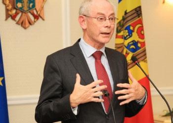 Херман ван Ромпей: ЕС поддержит РМ в случае санкций со стороны России