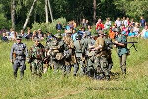 Фашисты. 22 июня, реконструкция начала ВОВ в Кубинке