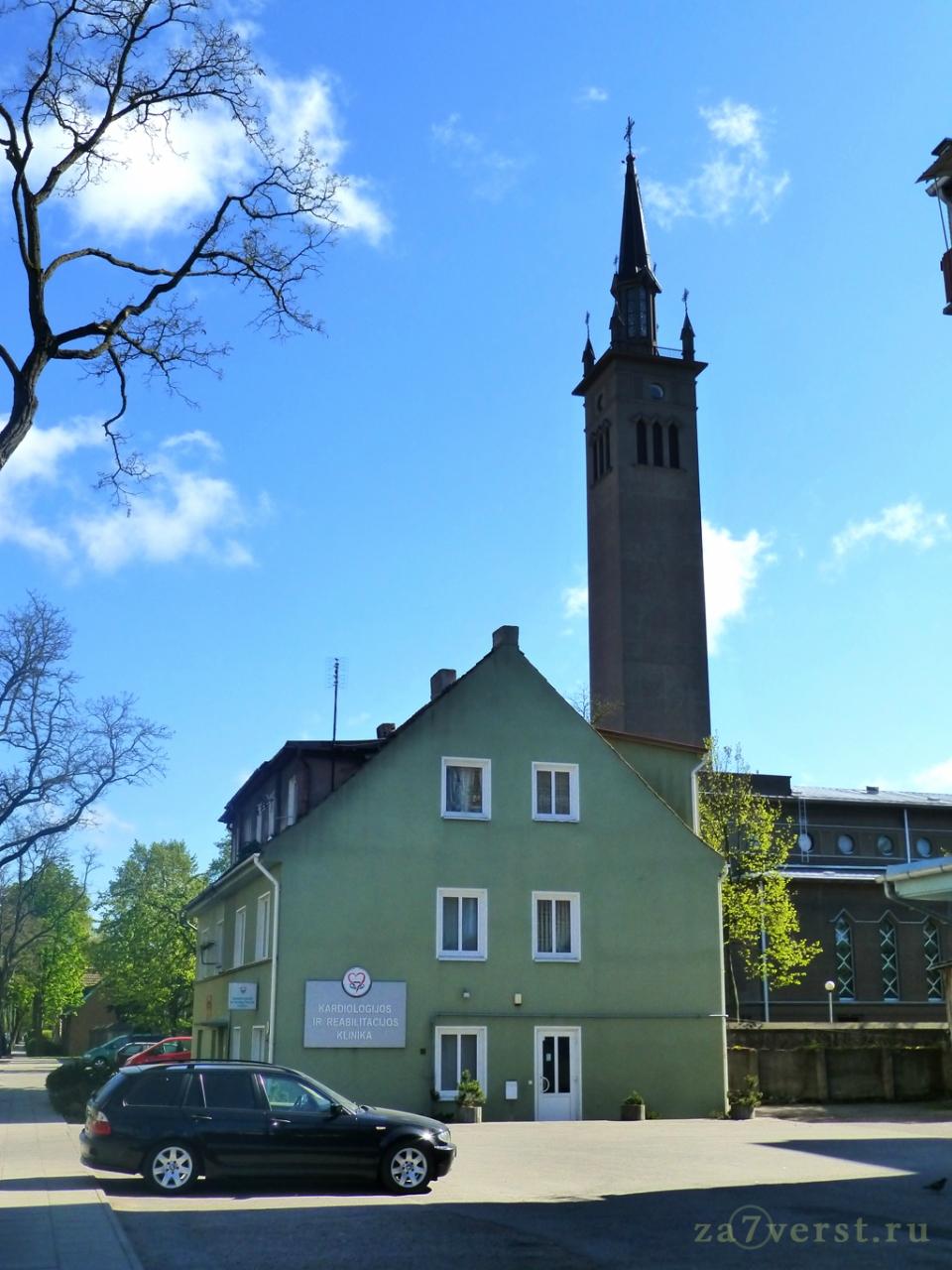 Костел Пресвятой Девы Марии, Королевы Мира в Клайпеде