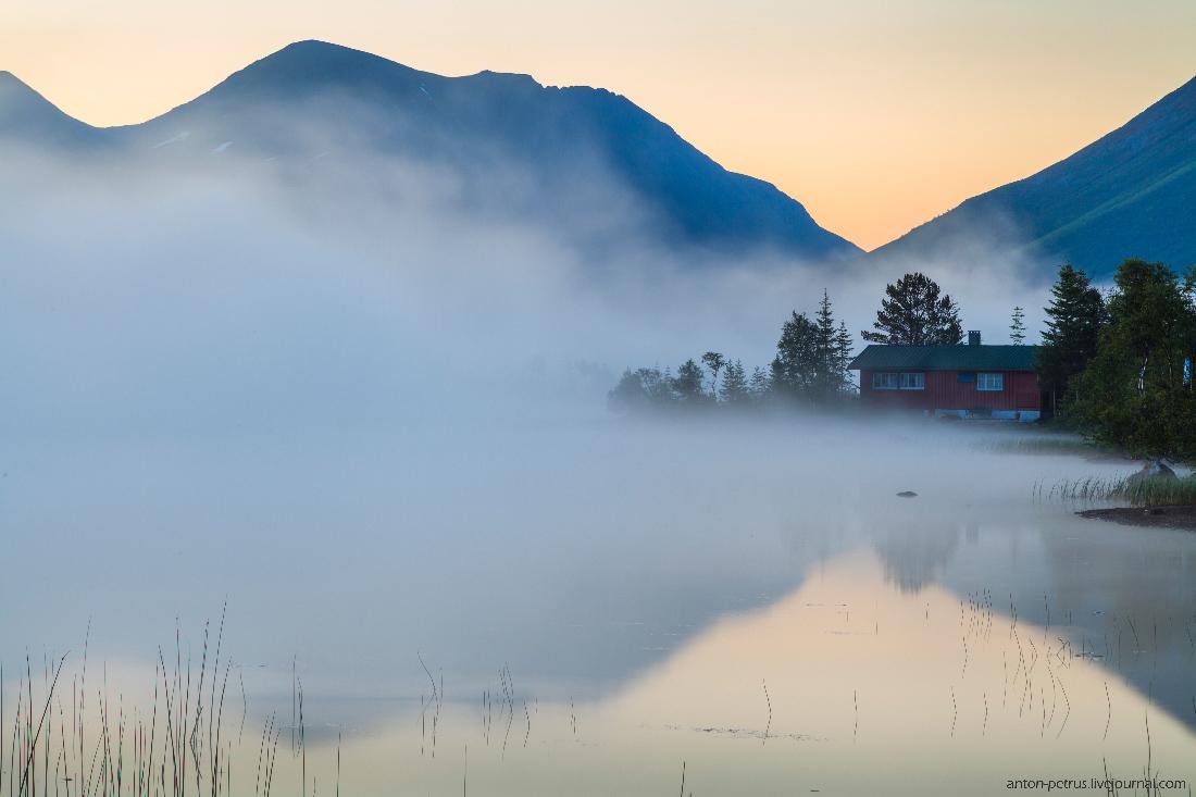Норвегия, полярный день
