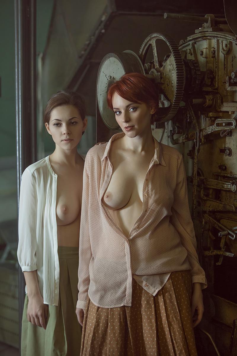 На заводе / фото Шаповалов Павел
