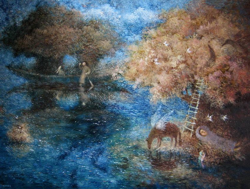 Воздух видений художник елена