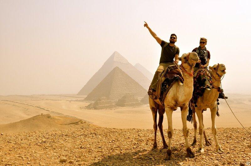 Путешествие с детьми в Каир: пирамиды и верблюды