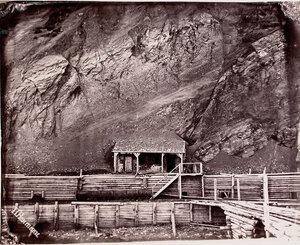 Главная шахта Евгеньевского каменноугольного пласта.