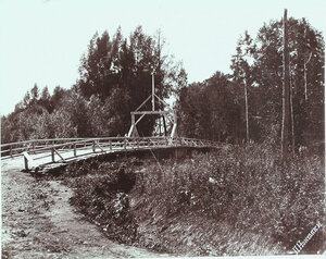 Первый Палевский мост по пути в сел[ение] Пальво.