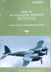 Книга De Havilland Mosquito. Mk. VIII, IX and XII. Operational Performance Notes