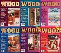 Книга Wood Magazine №21-26 1988