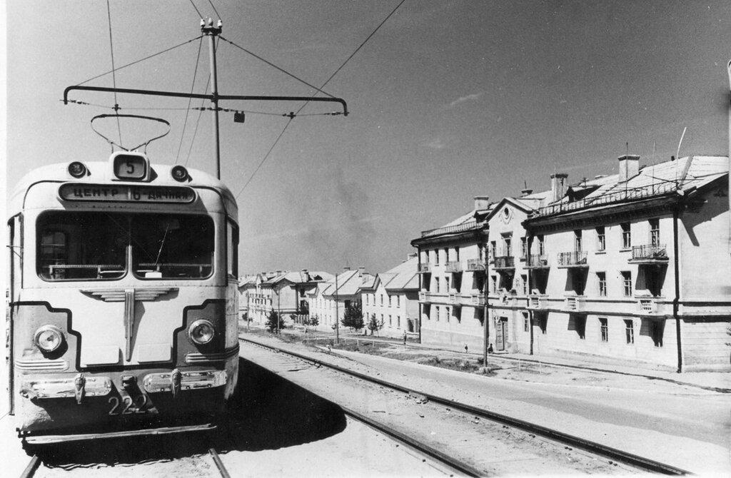 трамвая в Саратове. Первая