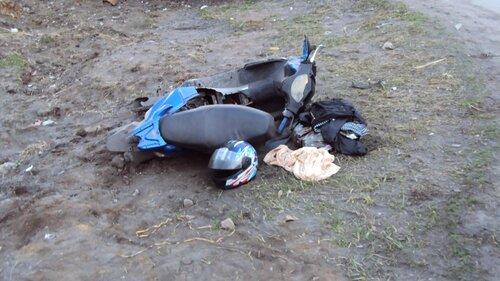 Аварии со скутеристами, фото Андрея Дамзина