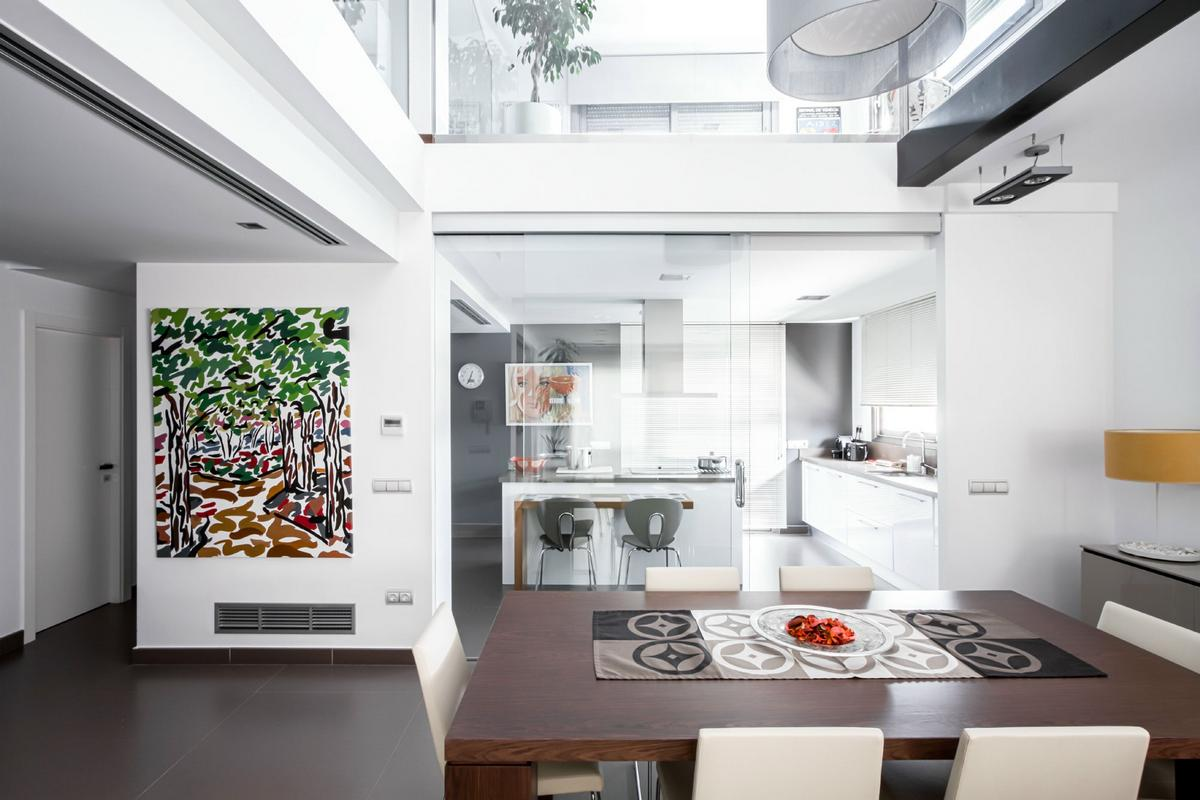 Julio Vila Cortell, Viraje Arquitectura, частные дома в Валенсии, современный дом в Испании, интерьер минимализм, небольшой дом интерьер