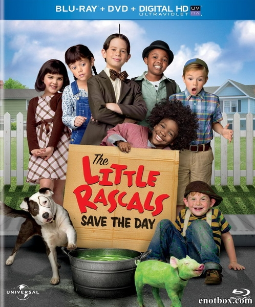 Маленькие негодяи спасают положение / The Little Rascals Save the Day (2014/BDRip/HDRip)