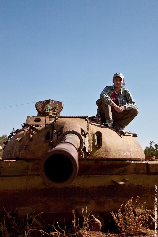 Эритрея, Асмэра, кладбище танков
