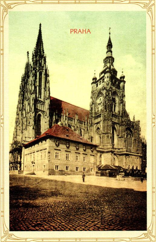 11. Градчаны — Собор Святых Вита, Вацлава и Войтеха. 1920 год