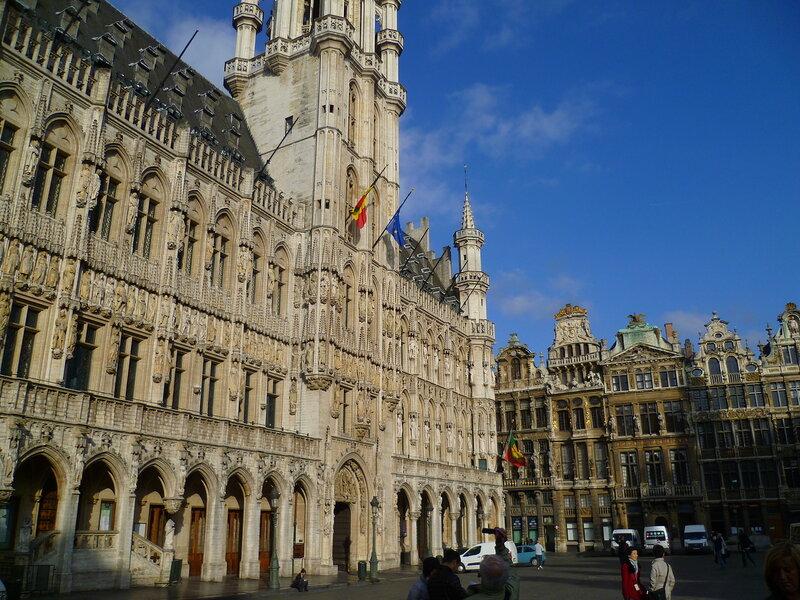 Брюссель, Гран-Плас (Brussels Grand Place)