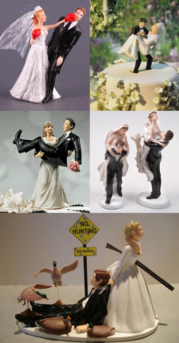 Фигурки для свадебного торта