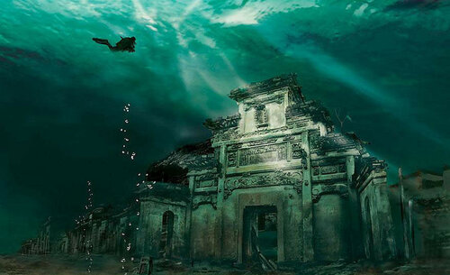 затонувший город