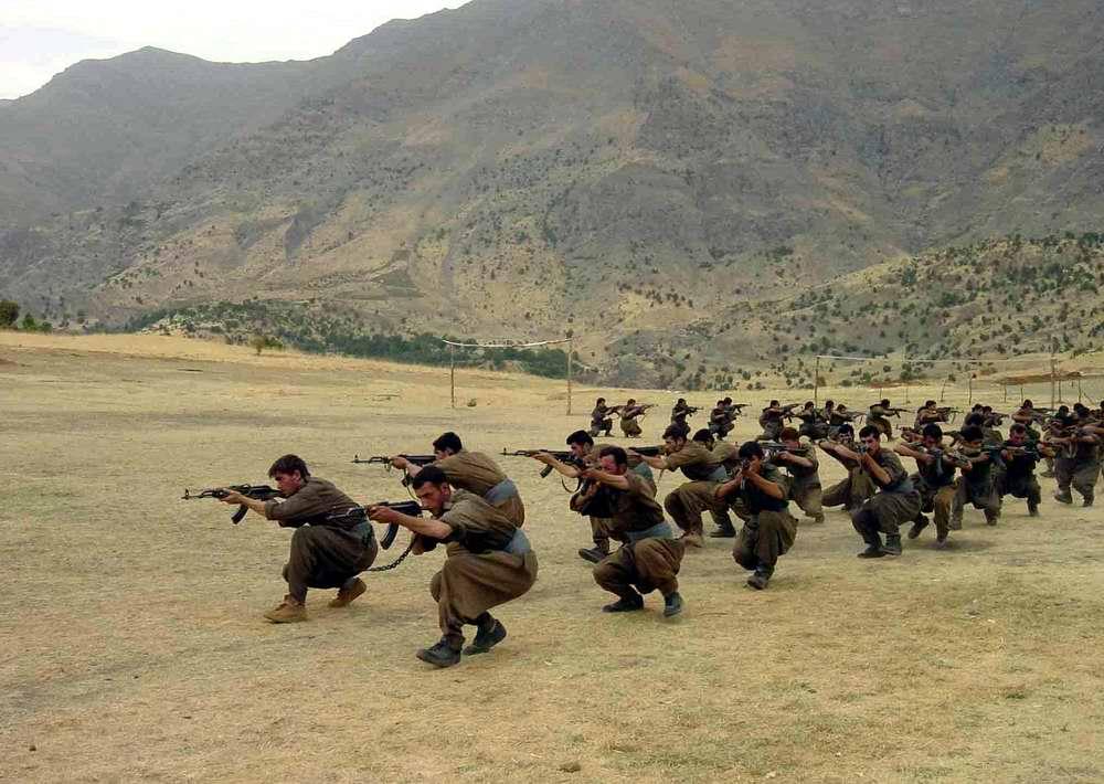 Курдские повстанцы - британский фотограф Анастасии Тейлор-Линд (1)