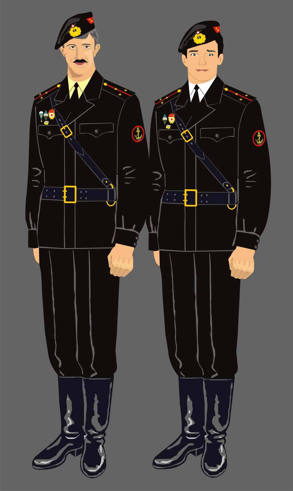Форма советских морских пехотинцев 1960-х годов - Жить ... Морская Пехота США Форма