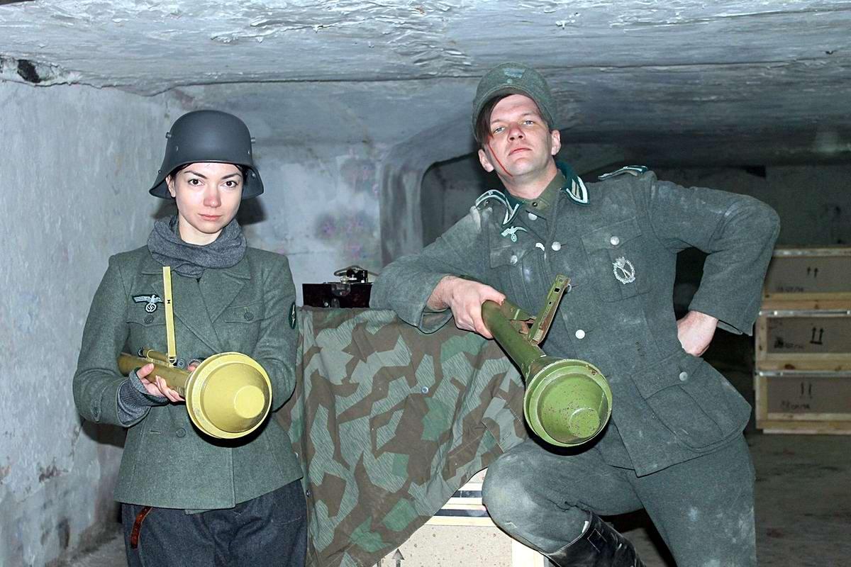 Забавные моменты из жизни военных реконструкторов (117)