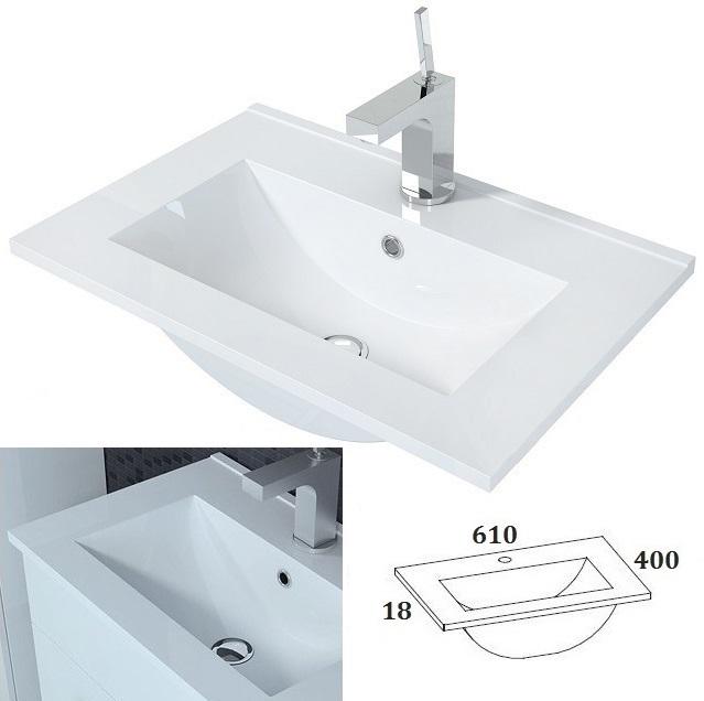 5tlg badm bel set hochglanz led g ste wc waschbecken spiegel dream in schwarz ebay. Black Bedroom Furniture Sets. Home Design Ideas