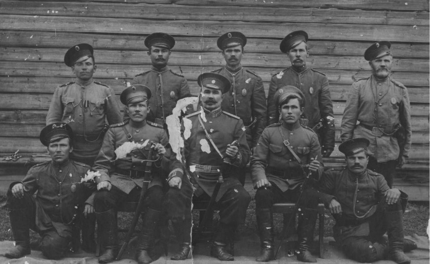 Стражники и надзиратели Яренской тюрьмы
