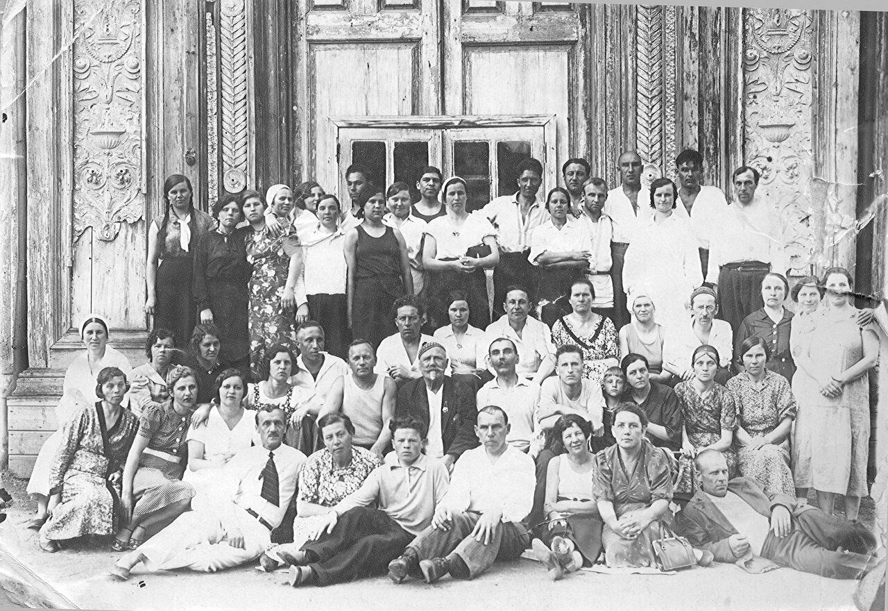 1930-е. На отдыхе