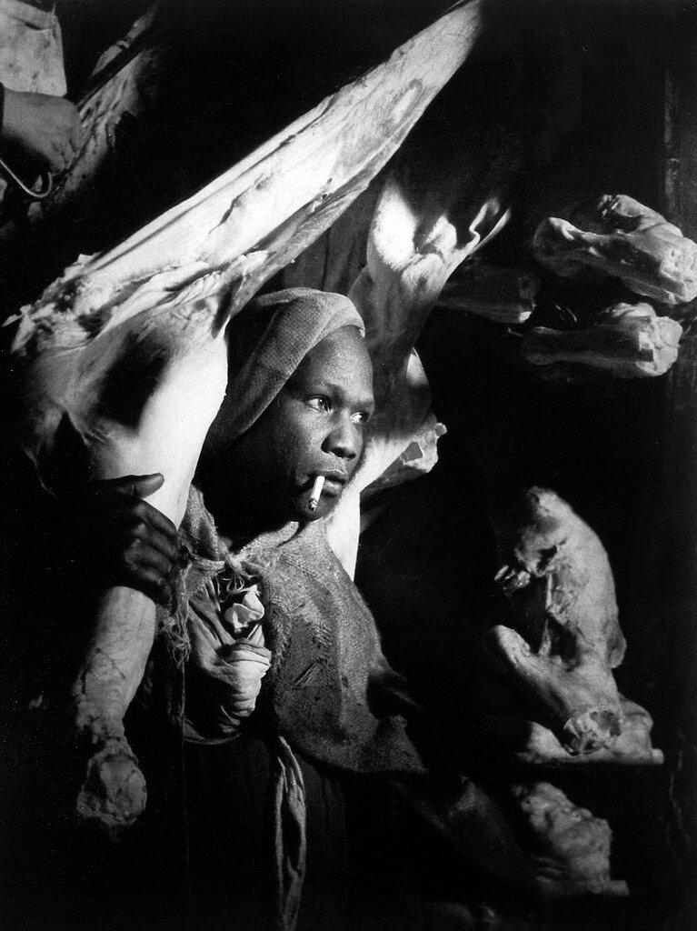 1935. Доставка мяса в Ле-Аль