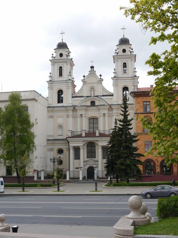 Минск, современный Костел
