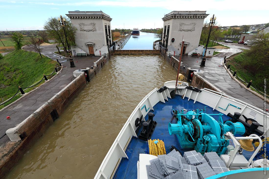 шлюз №3 волго донского судоходного канала