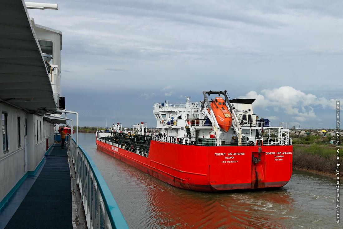 Какие же громадины эти танкеры типа «Армада»
