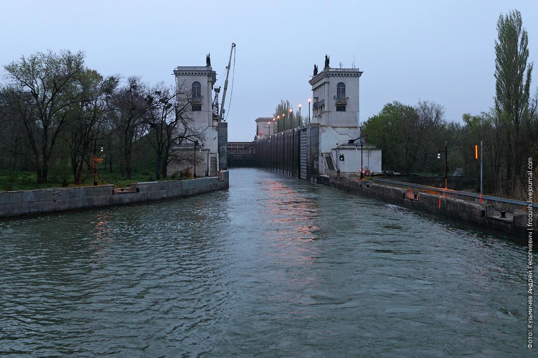 Шлюз №12 Волго-Донского судоходного канала