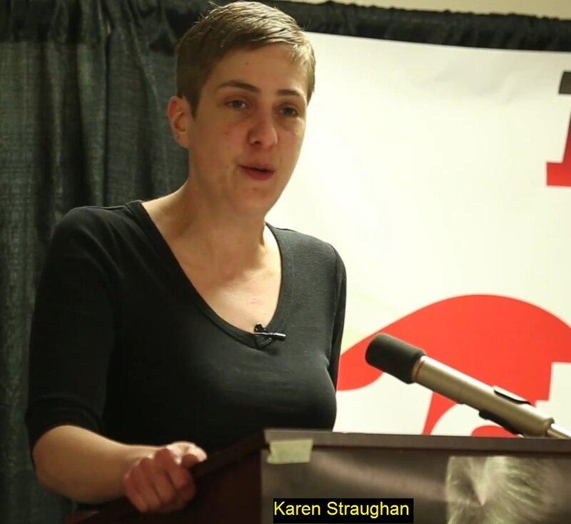 Karen Straughan, Карен Строн