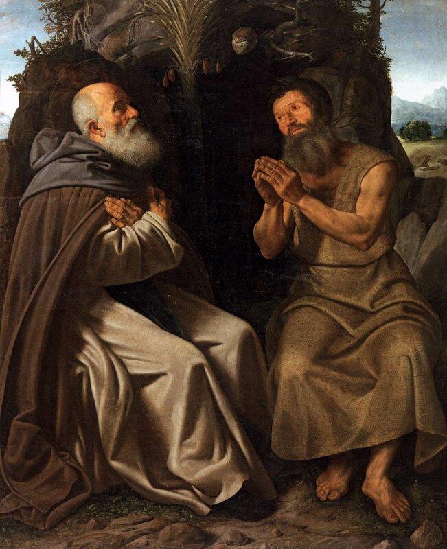 Savoldo,_santi_antonio_abate_e_paolo 1515 ок..jpg