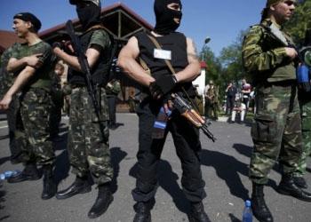 Сепаратистские боевики подожгли арену хоккейного клуба «Донбасс»